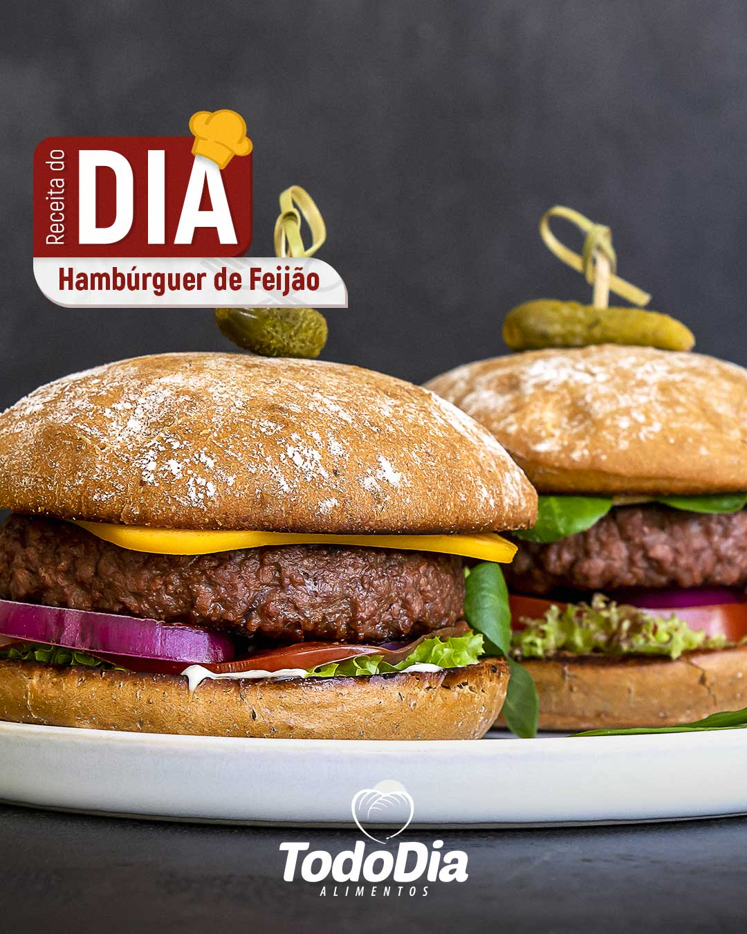 Hamburger de feijão